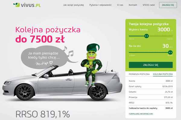 Vivus Koszalin  zadzwoń 600 111 551